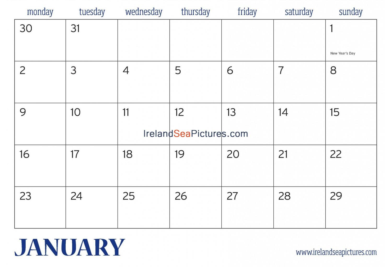Calendar Ireland : All ireland calendar irelandseapictures